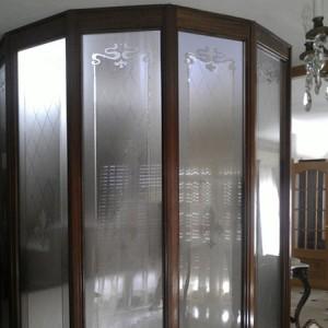 acristalamiento entrada de casa