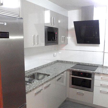 cocina adaptada a cualquier tipo de espacio