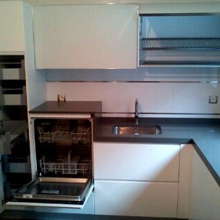 Cocina lavavajillas elevado - Amueblamiento de cocinas ...