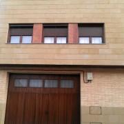 detalles revestimiento en fachada