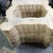 patas para mesa de bodega de diseño propio