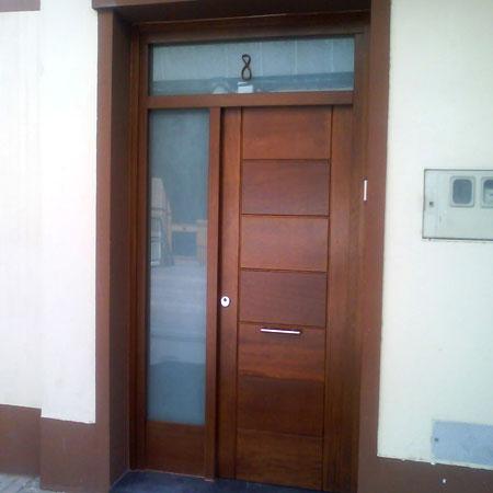 Puertas exterior pvc con las mejores colecciones de im genes - Puertas de entrada con cristal ...