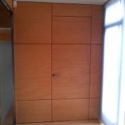 puerta integrada en podema