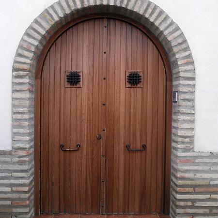 Puertas Exterior Carpinteria Usan