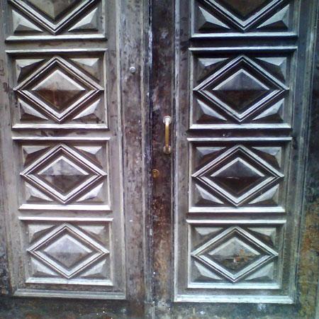 puerta para restaurar