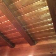detalles techo madera