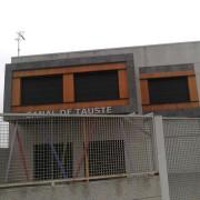 fachada con revestimiento en parklex