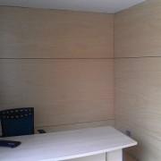 forrado de pared en tablero prodema interior