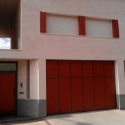 forrado puerta de garaje