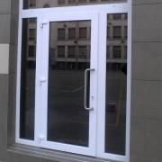 puerta exterior en pvc