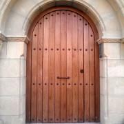 puerta exterio de medio punto