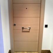puerta de roble blanco velao