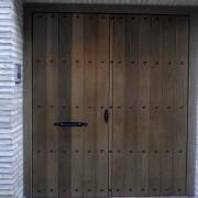 puerta exterior tarima ancha