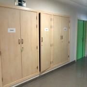 puertas de armario de servicios en residencias